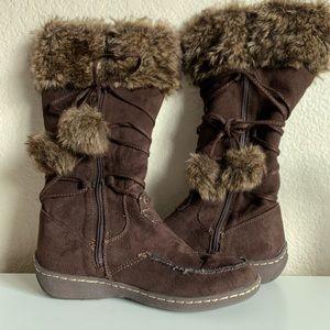 American Eagle Fur Boots   America Eagle Boots